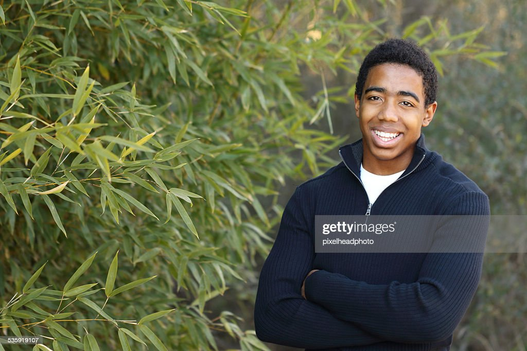 African American Teenager : Stock Photo