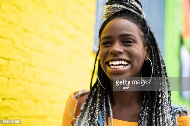 african american woman with dreadlocks portrait - jamaica stock pictures, royalty-free photos & images