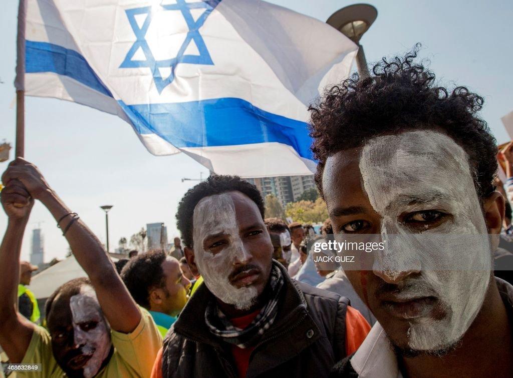 ISRAEL-AFRICA-MIGRANTS-DEMO : News Photo