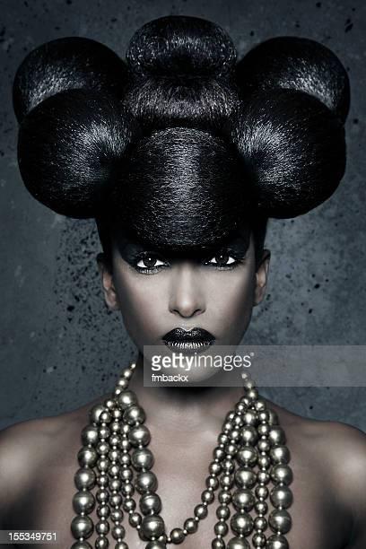African Avant Garde Hairdo