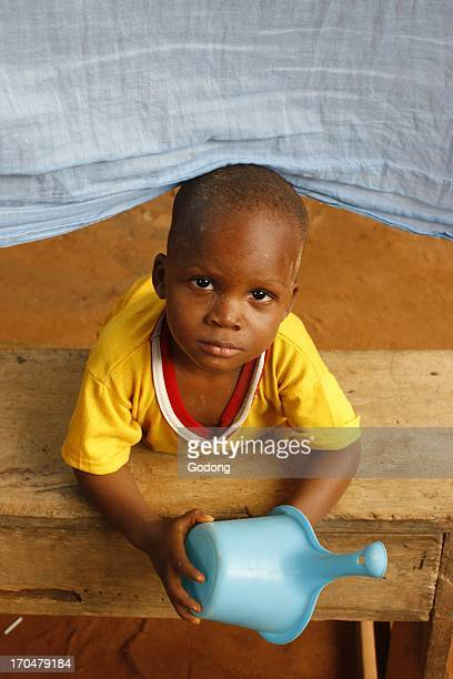 African boy in Lome Lome Togo