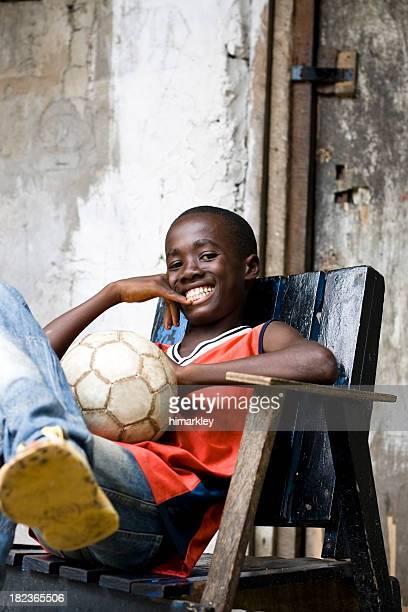 Garçon africain
