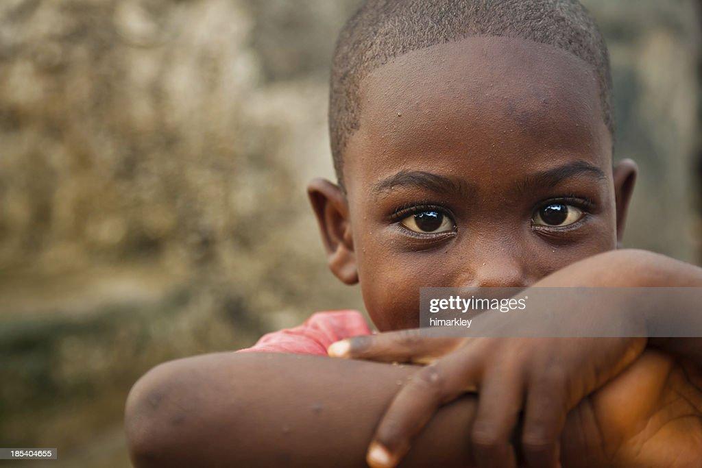 African Boy : Stockfoto