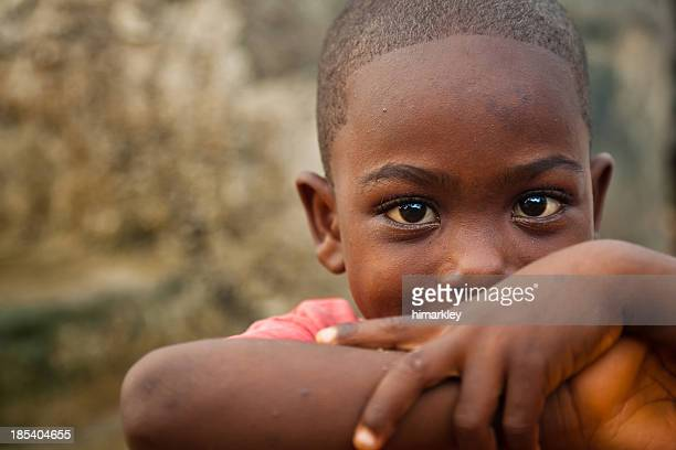 african boy - poverty stock pictures, royalty-free photos & images