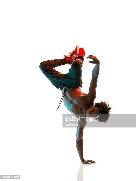 afrikanischer breakdancer - young nude teenagers stock-fotos und bilder