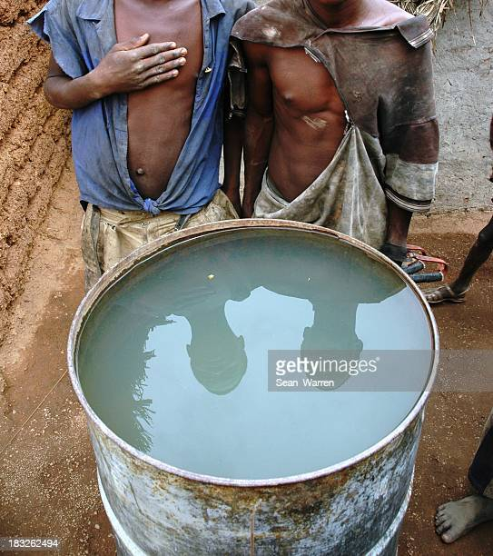 African Children and Drinking Water
