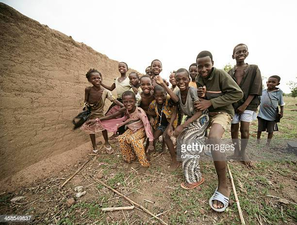 african children - burkina faso stock pictures, royalty-free photos & images