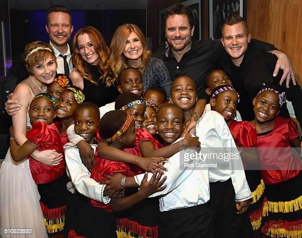 African Children's Choir Clare Bowen Will Chase of Singer/Songwriter Ingrid Michaelson Connie Britton Charles Esten of and Singer/Songwriter Brandon...