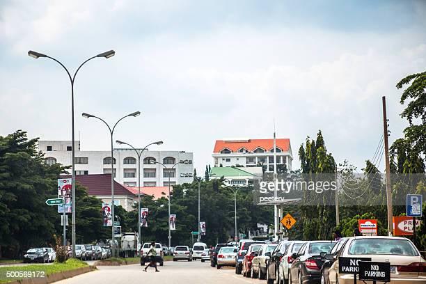 African ville. Abuja, Nigeria.