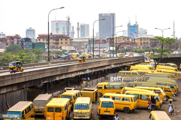 african city - lagos, nigeria - lagos nigeria stock pictures, royalty-free photos & images