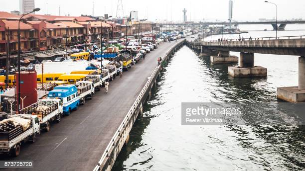 african city - lagos, nigeria - nigeria stock pictures, royalty-free photos & images