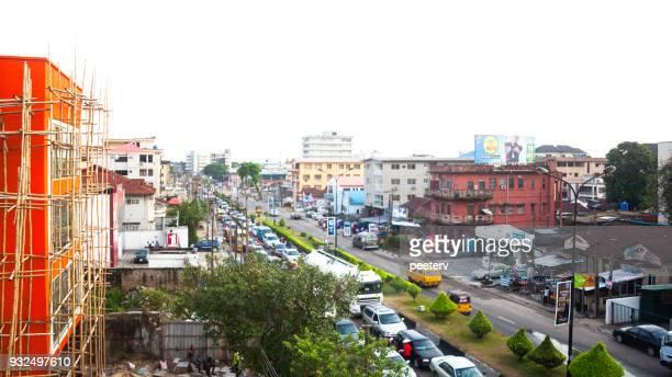Ciudad africana - Lagos, Nigeria