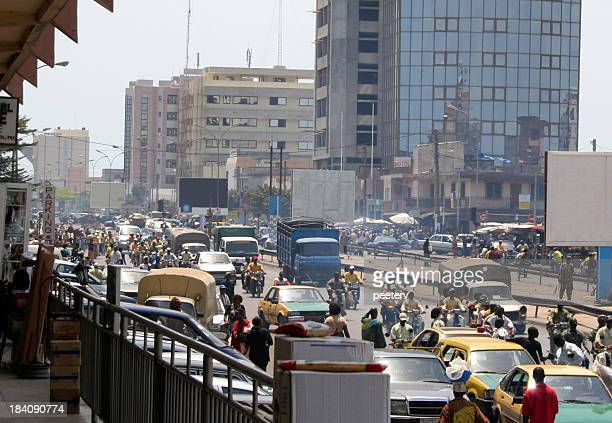 african city life