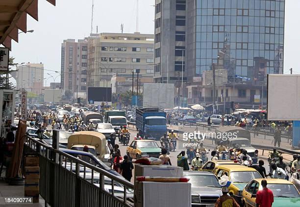 african la ville - capitales internationales photos et images de collection