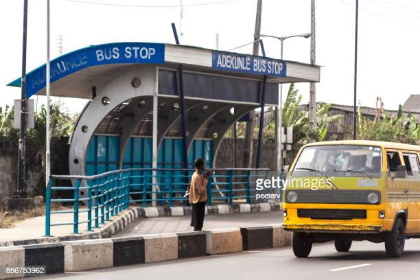 african city transport - lagos, nigeria - nigeria stock pictures, royalty-free photos & images