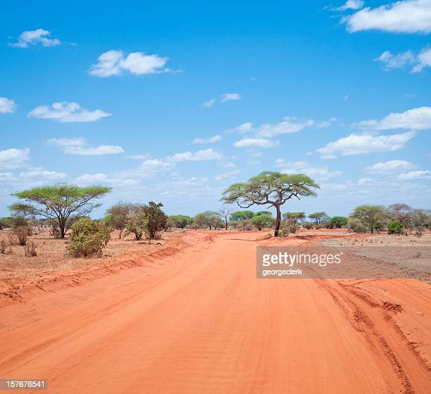 African Country Road