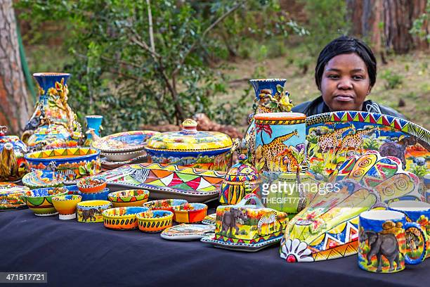 African crafts at Irene Market