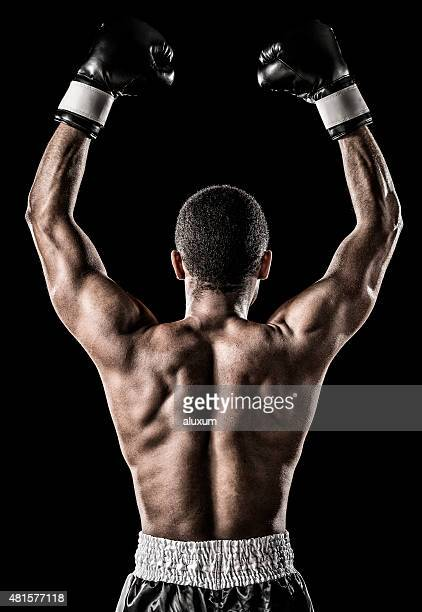 African descent boxer