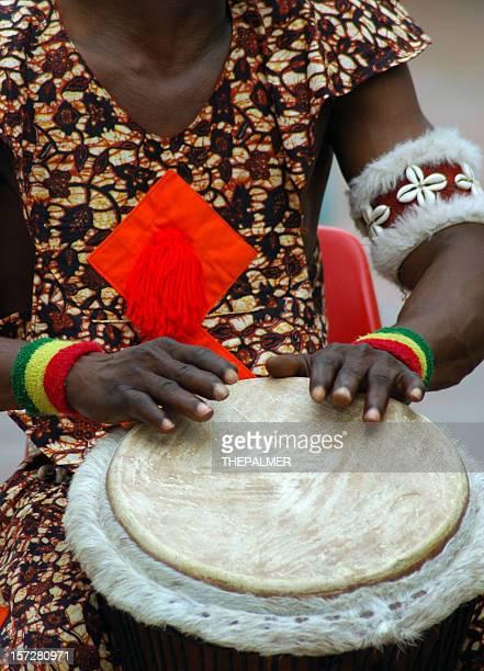 african drummer serie