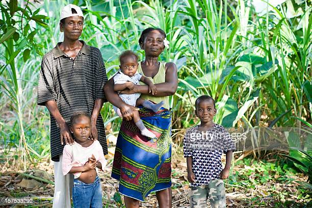 african family - liberia stock pictures, royalty-free photos & images