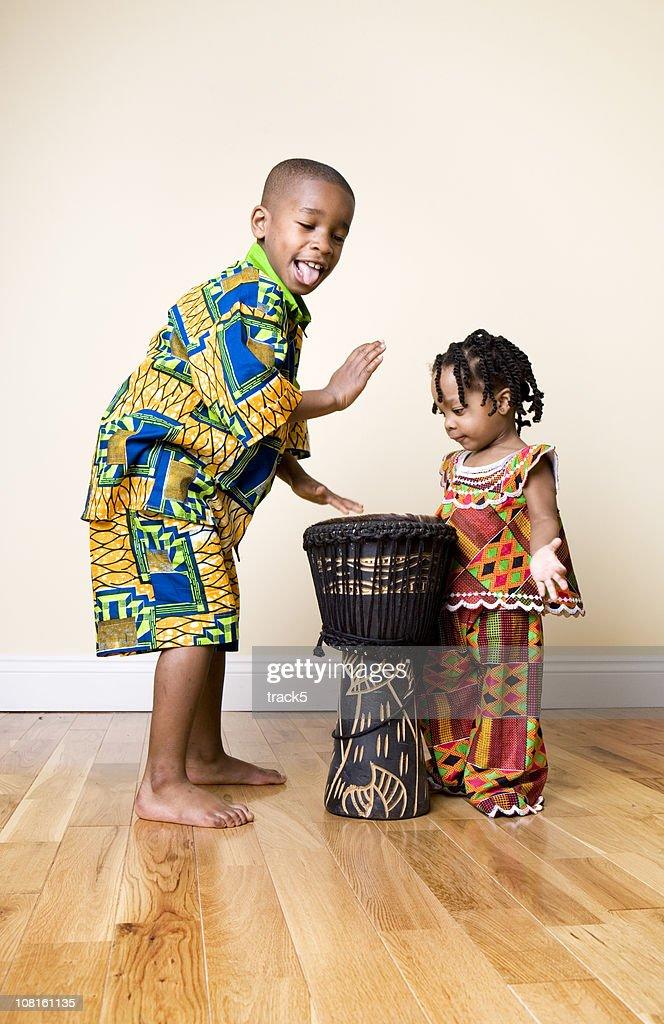 African Fashion, fun : Stock Photo