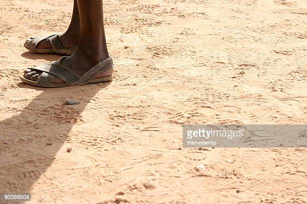 African pieds carrés
