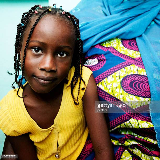african girl - nigerian girls stock photos and pictures