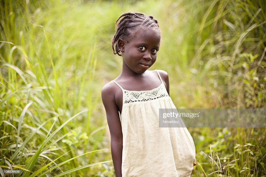 African Girl : Stock Photo