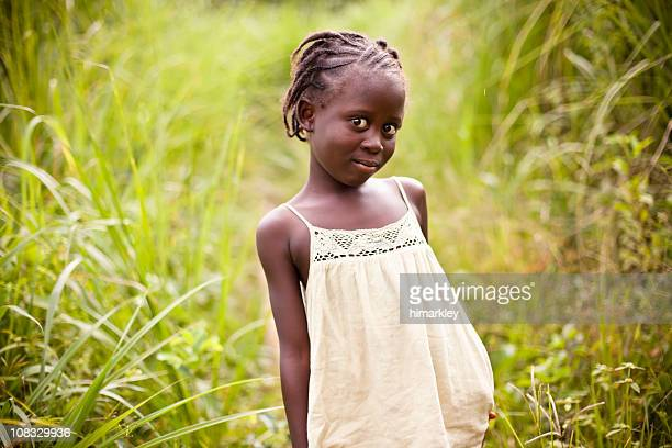 african girl - native african girls stock photos and pictures