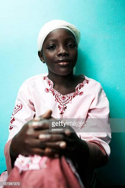 afrikanische mädchen - hausa stock-fotos und bilder