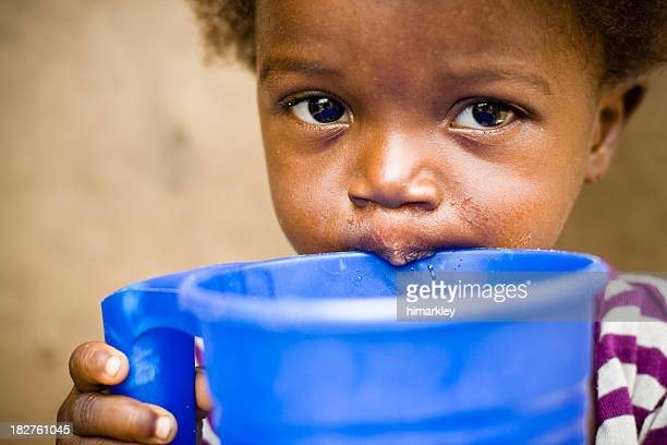 african girl - human arm stockfoto's en -beelden