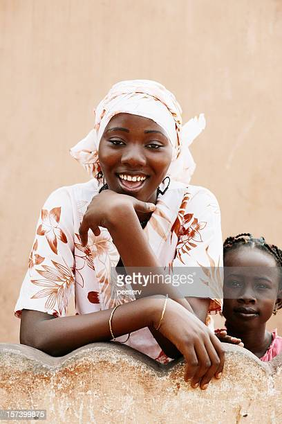 african girls - nigerian girls stock photos and pictures