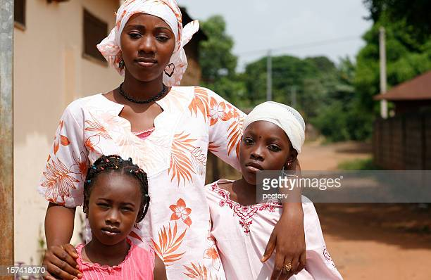 african girls - nigeria stock pictures, royalty-free photos & images