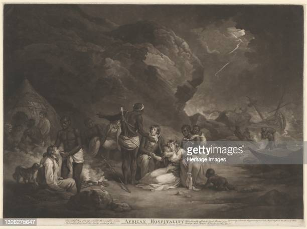 African Hospitality, 1791. Artist John Raphael Smith.