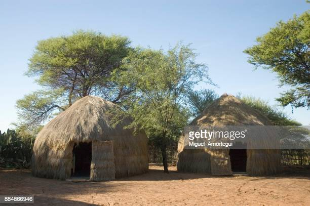 african huts - horn of africa stock pictures, royalty-free photos & images