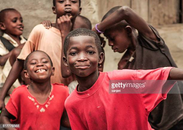 african kids - ghana - ghana stock pictures, royalty-free photos & images