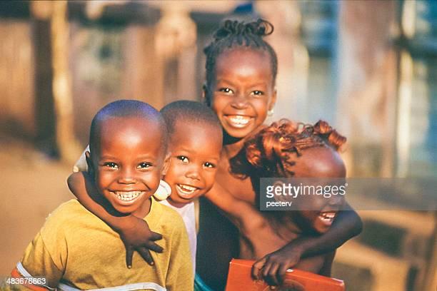 African kids.