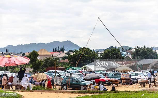 African life. Abuja, Nigeria.