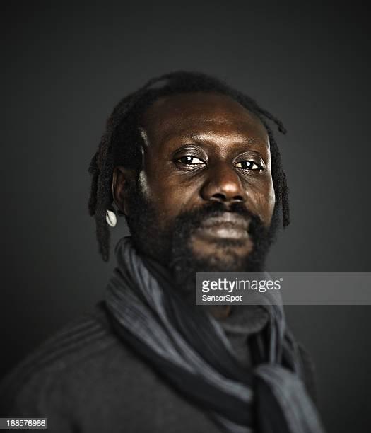 portrait homme africain