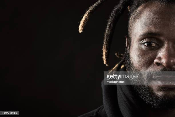 African Man with Dreadlocks