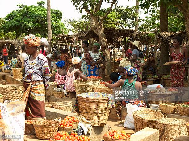 african market - togo stock pictures, royalty-free photos & images