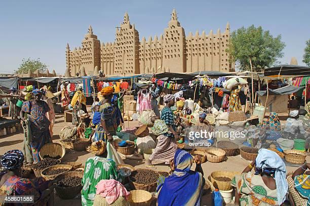 marché afrique - mali photos et images de collection