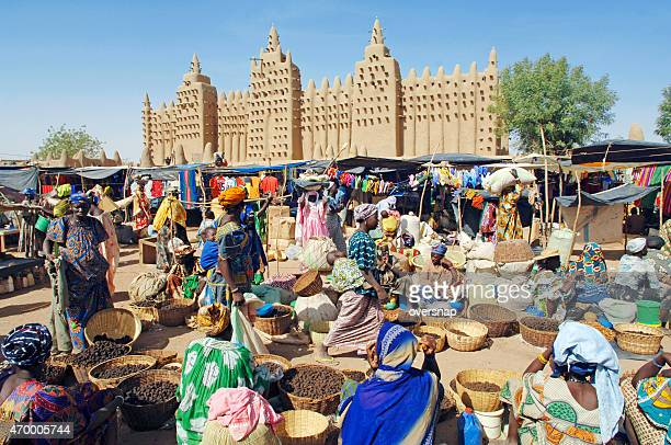 african market - mali stock pictures, royalty-free photos & images
