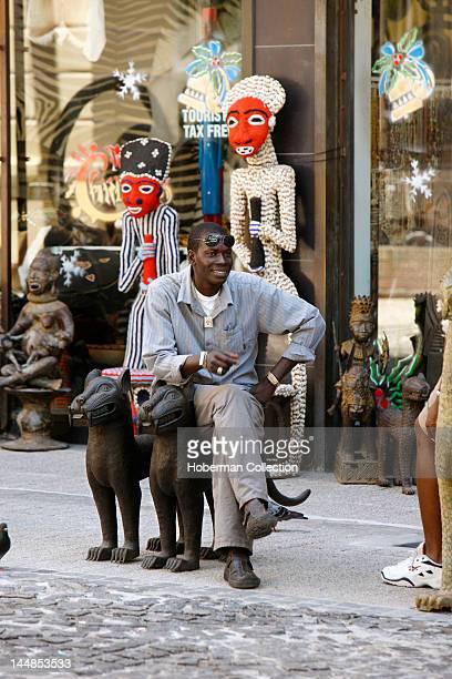 African Market Vendor