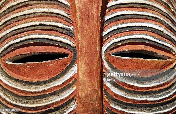african mask - african tribal culture stock pictures, royalty-free photos & images
