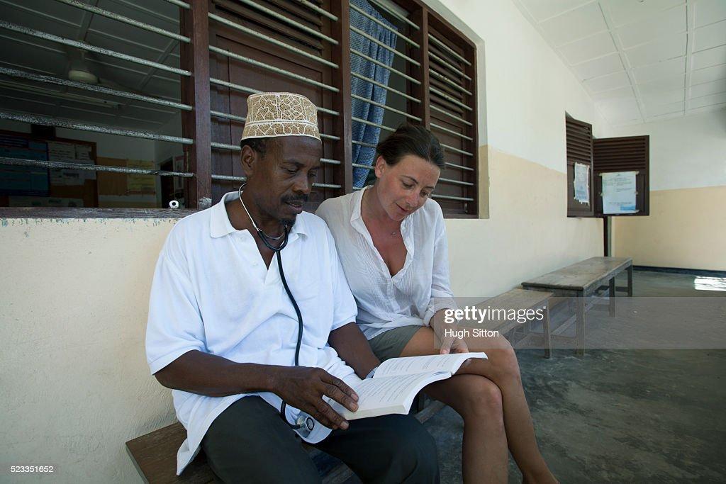 African Medical Clinic. Tanzania. Africa. : Stock Photo