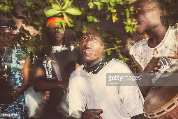 african music. - reggae stock photos and pictures