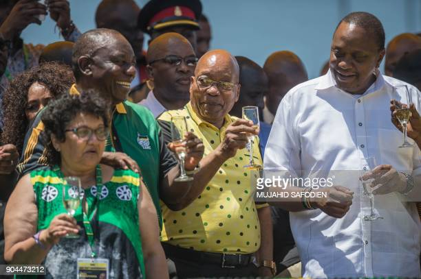 African National Congress Deputy SecretaryGeneral Jessie Duarte ANC President Cyril Ramaphosa President of South Africa Jacob Zuma and President of...