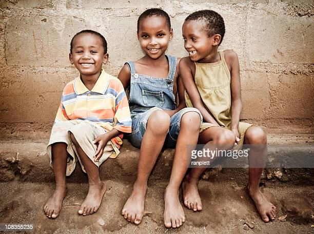 african orphan girls - underweight stock photos and pictures