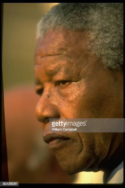 S African Pres Nelson Mandela